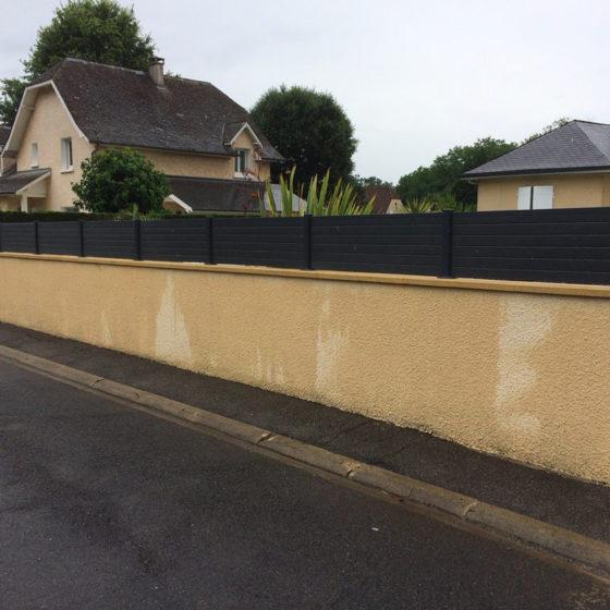 installation clôture Pau